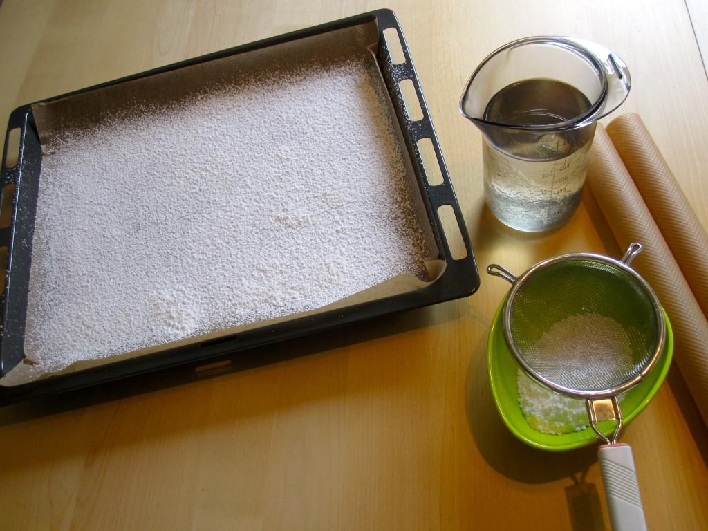 Voorbereidingen voor guimauves