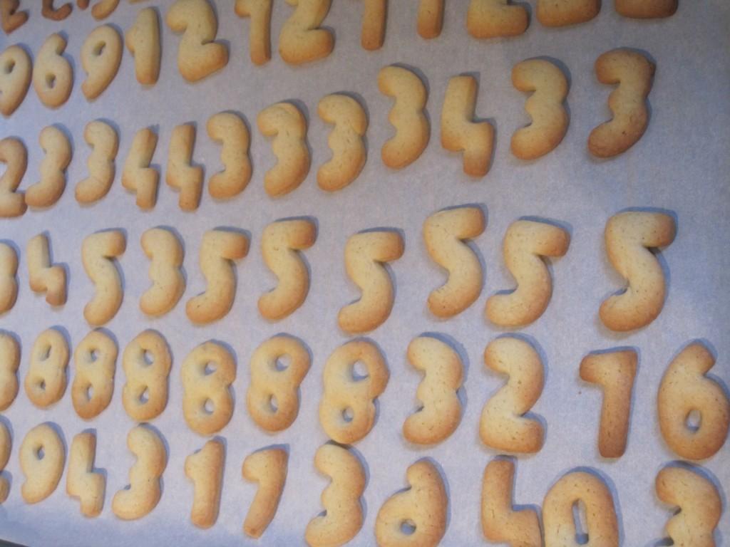 koekjes sinterklaas: cijferkoekjes en letterkoekjes voor sinterklaas