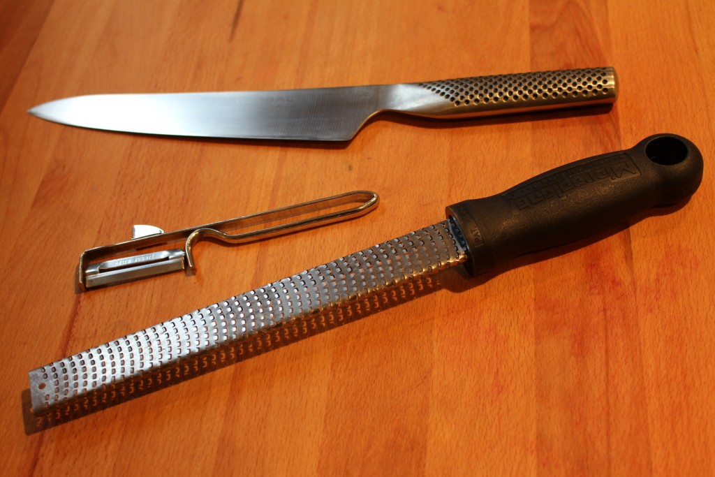 Microplane rasp, dunschiller, Global demi-chef