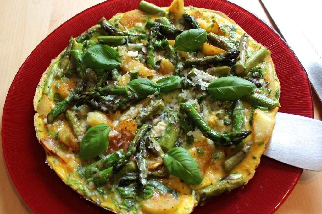 Zes onmisbare recepten met asperges: Tortilla met groene asperges