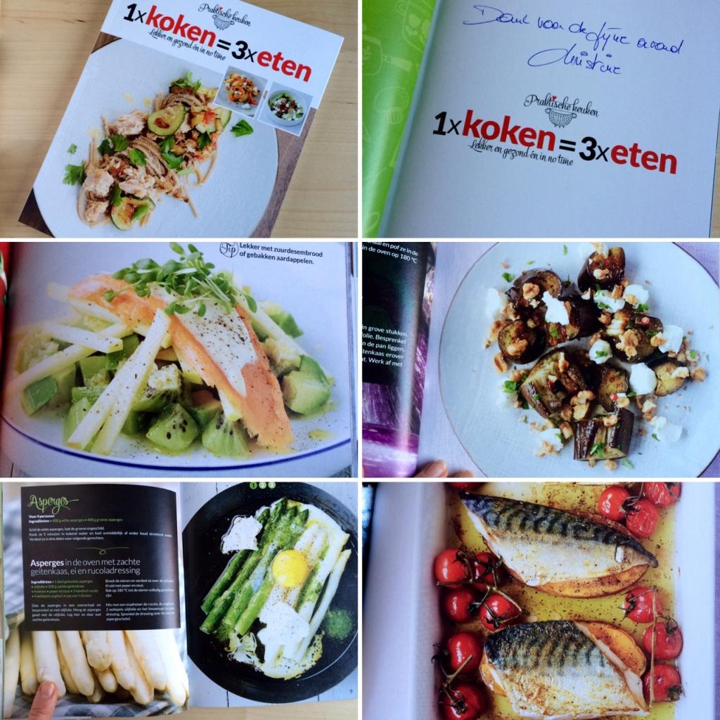 """""""1 x koken = 3 x eten"""" Christine Van Imschoot"""