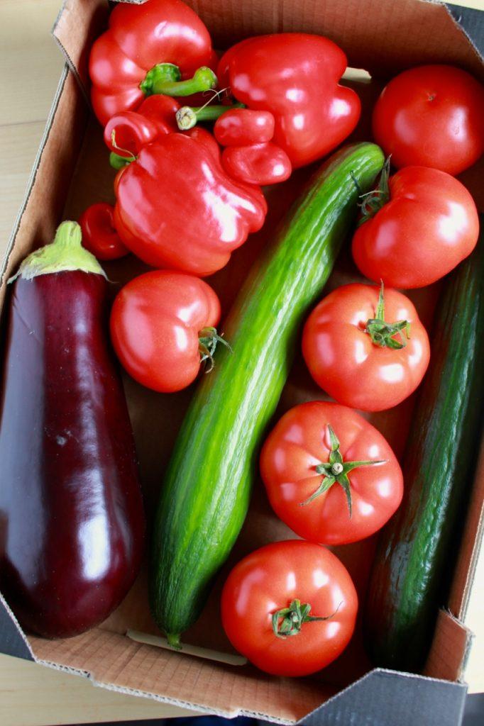 Gekke groenten Delhaize
