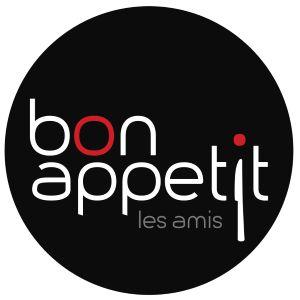 Bon Appetit Les Amis - logo / www.eenlepeltjelekkers.be