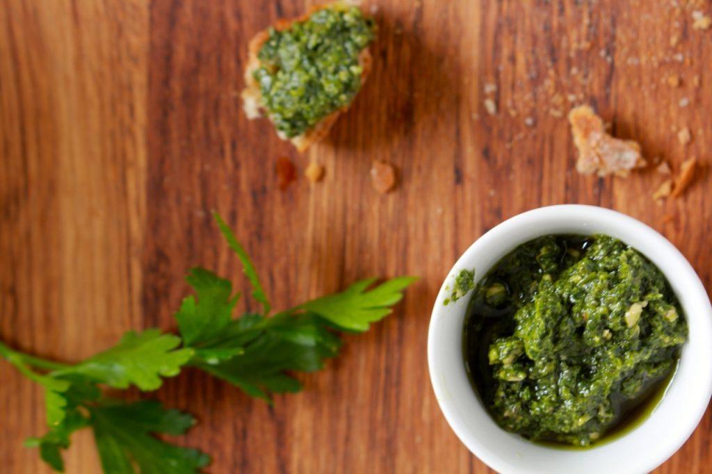 Gremolata-pesto / www.eenlepeltjelekkers.be