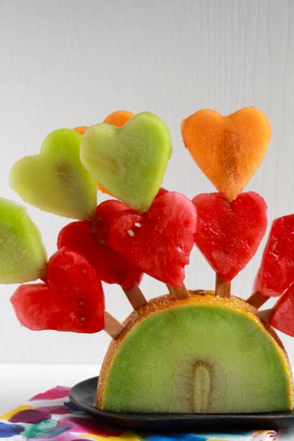 Kindertraktaties - Lolly's van meloen/ www.eenlepeltjelekkers.be