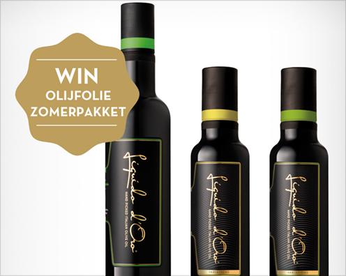 Zomerolijfoliepakket winactie Liquido d'Oro / www.eenlepeltjelekkers.be