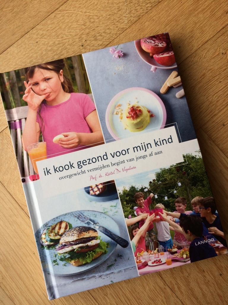 Ik kook gezond voor mijn kind - prof. Kristel De Vogelaere / www.eenlepeltjelekkers.be