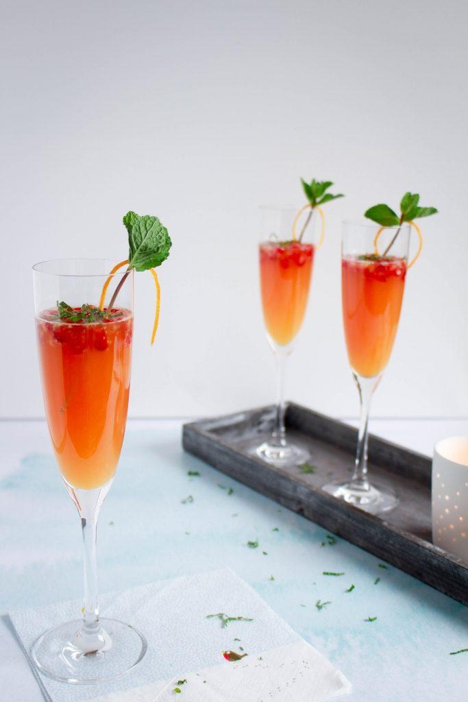 Mimosa met bloedsinaasappel / www.eenlepeltjelekkers.be