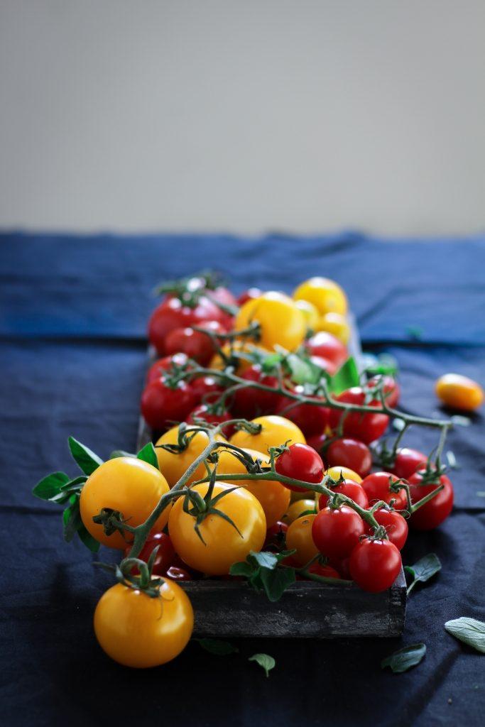 Gemengde tomaten / www.eenlepeltjelekkers.be