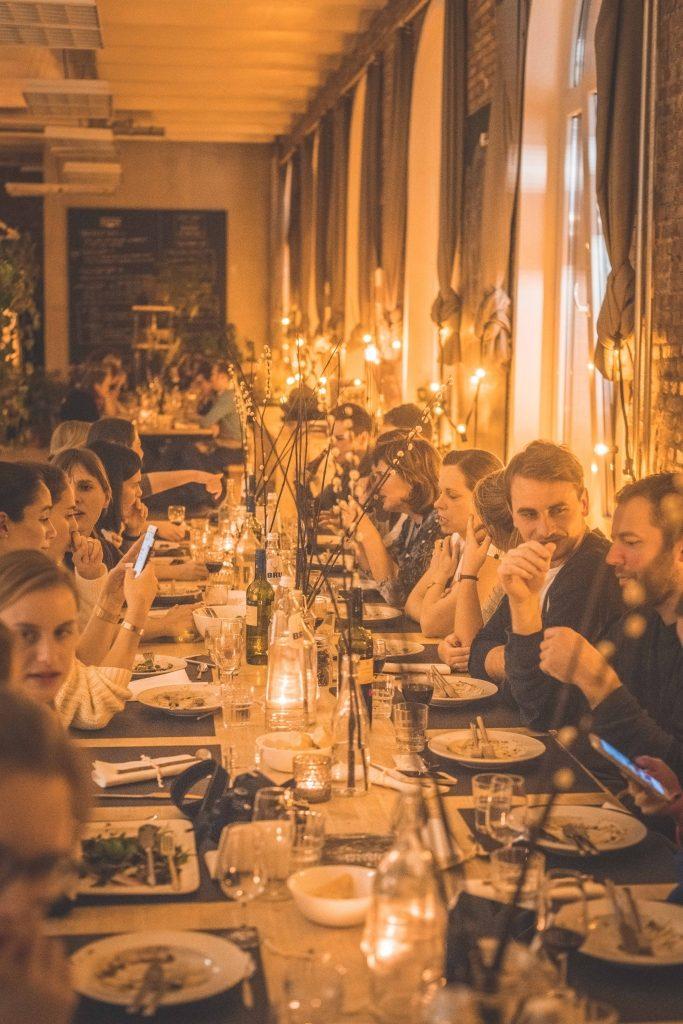 Gevulde tafel HelloFresh workshop / www.eenlepeltjelekkers.be