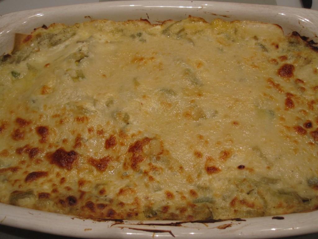 Pompoengerechten - Hugh's lasagne met pompoen en venkel