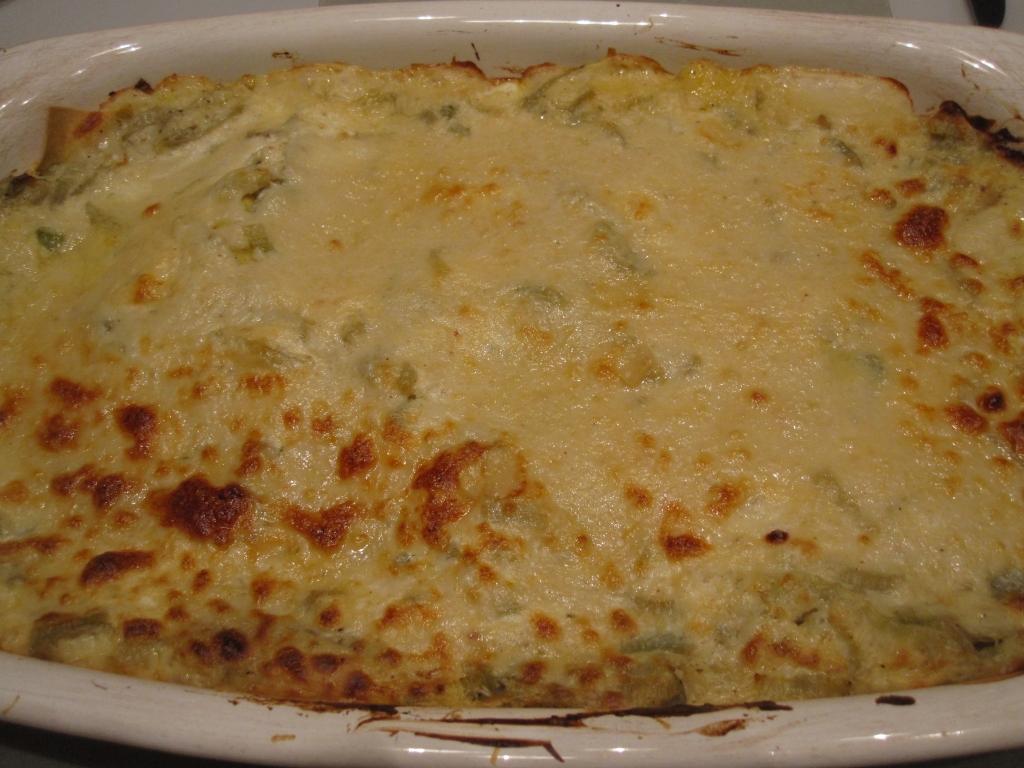 Hugh's lasagne met pompoen en venkel