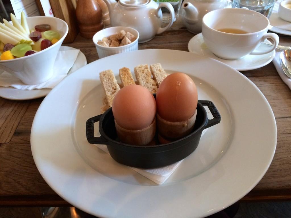 Ontbijt bij The Grazing Goat