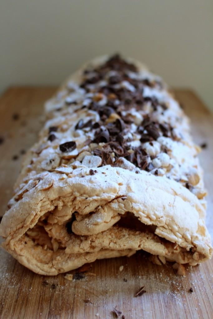 Feestmenu: Chocolade-hazelnootrol