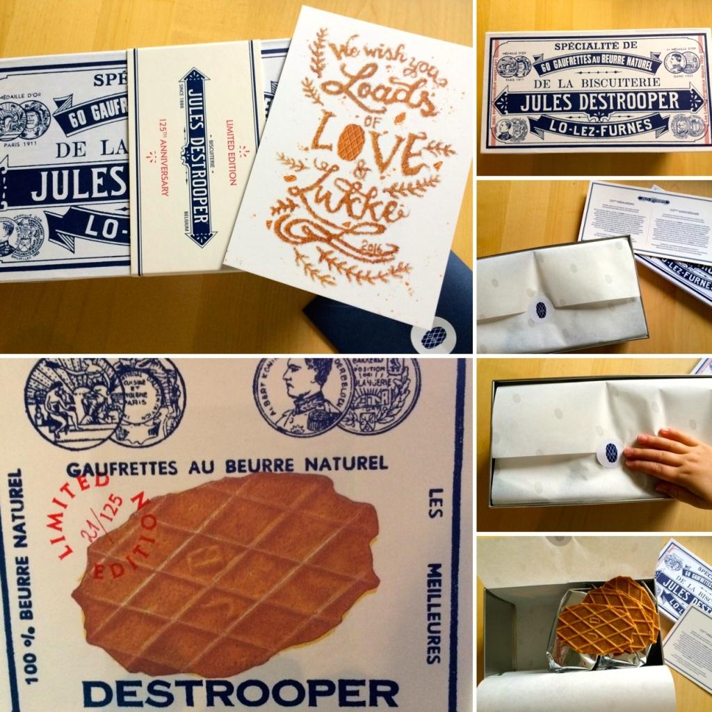 Boterwafeltjes van Jules Destrooper in limited edition