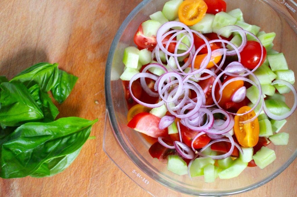 Groenten mengen / www.eenlepeltjelekkers.be