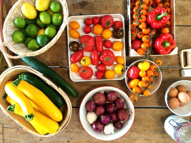Gezond eten begint met gezond verstand: mooie groenten / www.eenlepeltjelekkers.be