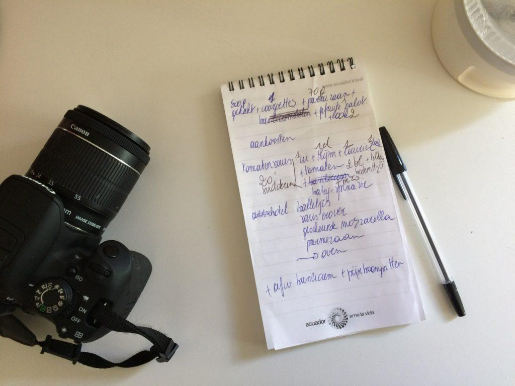 Recepten bedenken en fotograferen / www.eenlepeltjelekkers.be