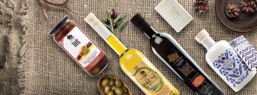 Assortiment Taris olijfolie / www.eenlepeltjelekkers.be