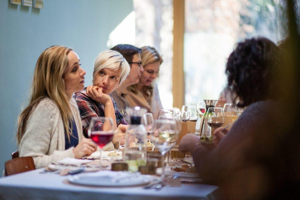 De gasten van Veerle - Aan tafel / www.eenlepeltjelekkers.be