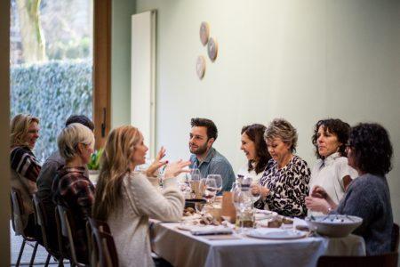 De gasten van Veerle - Aan tafel 2 / www.eenlepeltjelekkers.be