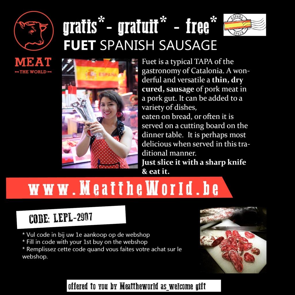 Meat the world kortingscode / www.eenlepeltjelekkers.be