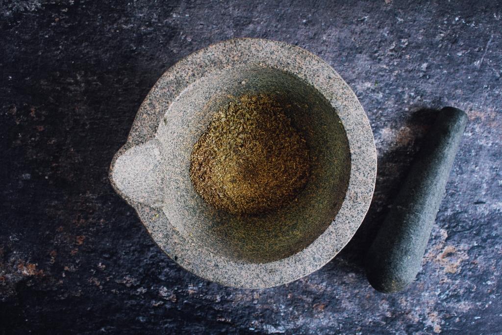 Kruidenmengsel maken / www.eenlepeltjelekkers.be