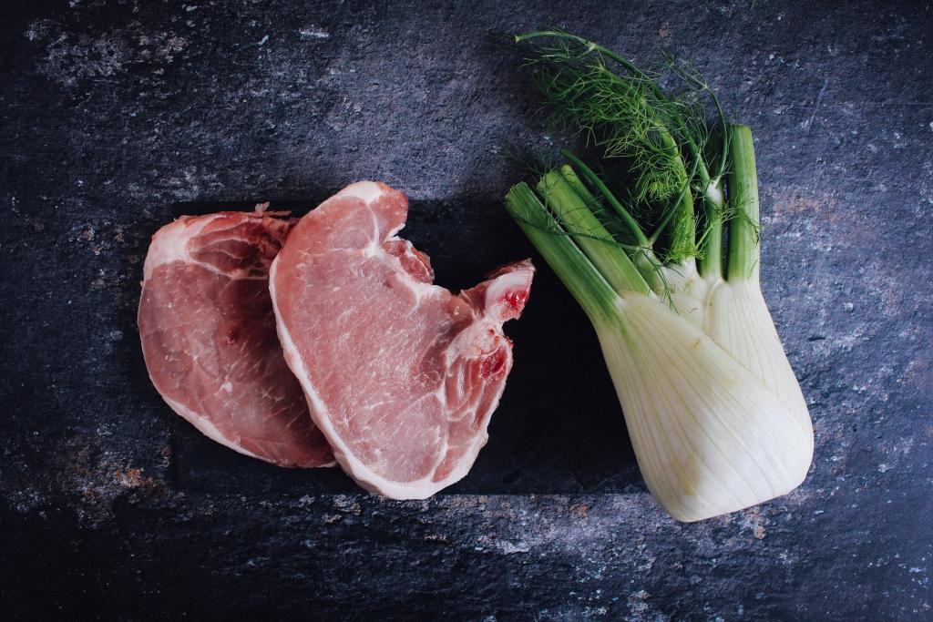 Varkenskoteletten en venkel / www.eenlepeltjelekkers.be