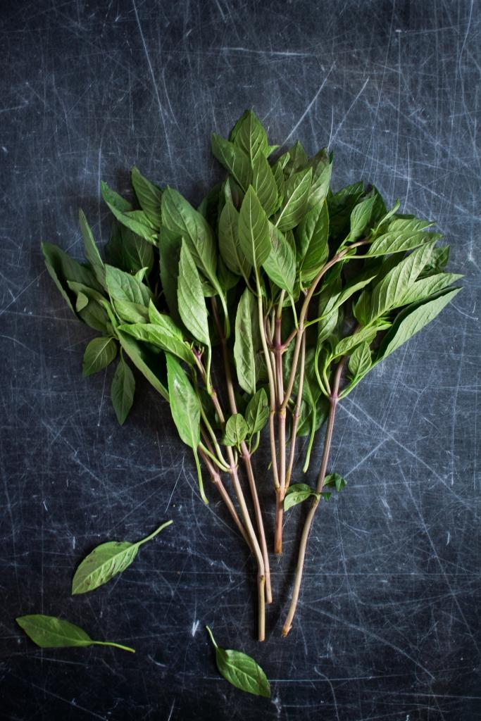 Thaise basilicum / www.eenlepeltjelekkers.be