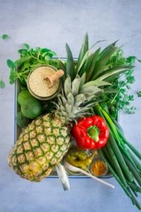 Kip-quinoapannetje ingrediënten / www.eenlepeltjelekkers.be