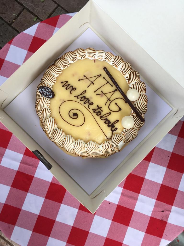ATAG - BAKE Off - taart / www.eenlepeltjelekkers.be