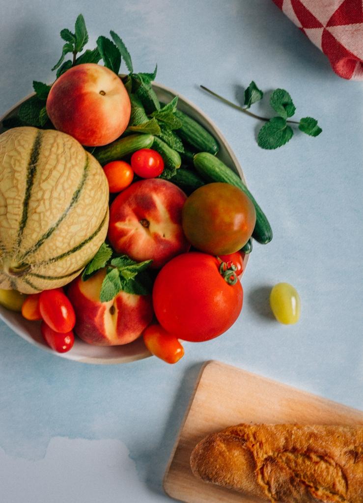 Panzanella met burrata - ingrediënten / www.eenlepeltjelekkers.be