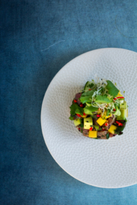 Thaise tonijntartaar / www.eenlepeltjelekkers.be