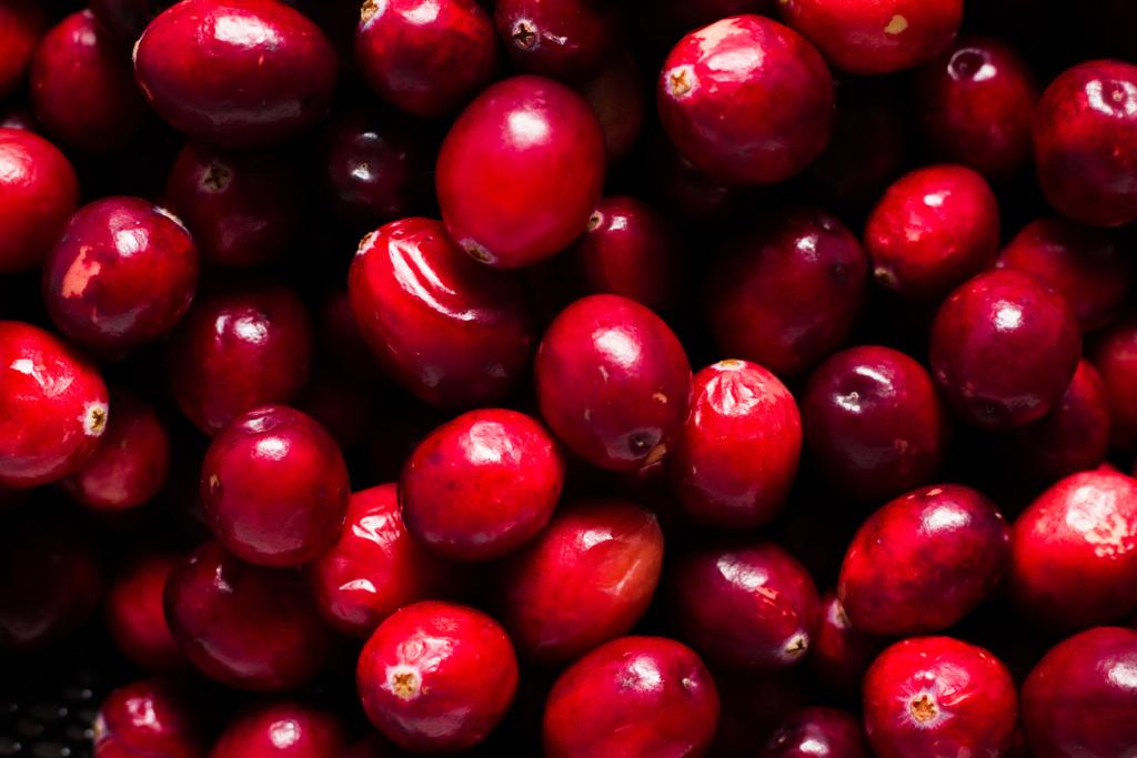 Cranberry's close-up / www.eenlepeltjelekkers.be