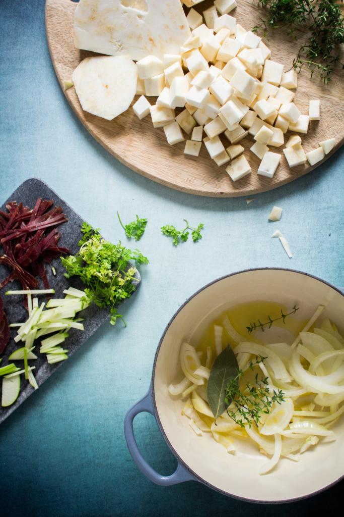 Groenten snijden / www.eenlepeltjelekkers.be