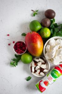 Ingrediënten eenvoudig dessert / www.eenlepeltjelekkers.be