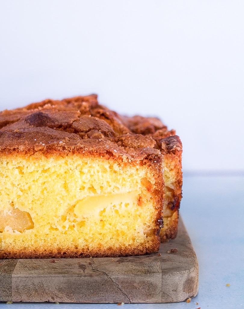 Appelcake met citroen / www.eenlepeltjelekkers.be