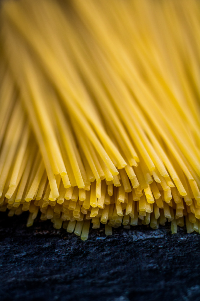 Linguine close-up / www.eenlepeltjelekkers.be