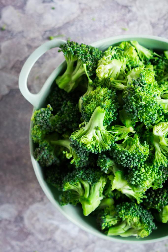 Broccoli roosjes / www.eenlepeltjelekkers.be