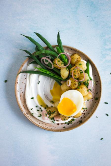 Gnocchi met bruine boter en labneh / www.eenlepeltjelekkers.be