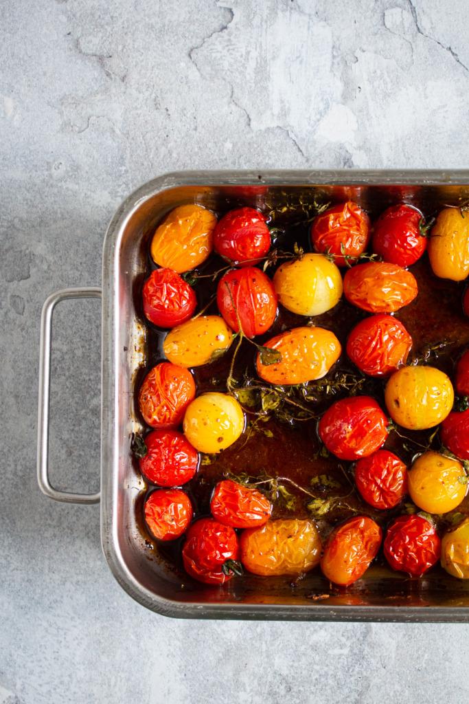 Geroosterde tomaten / www.eenlepeltjelekkers.be