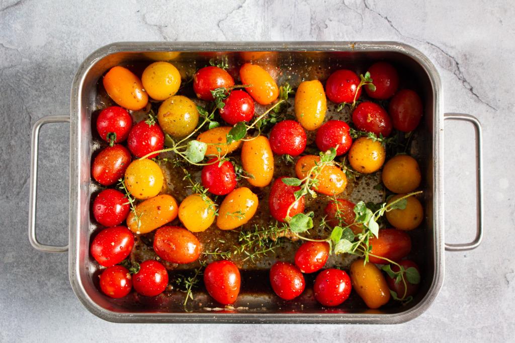 Tomaten roosteren / www.eenlepeltjelekkers.be