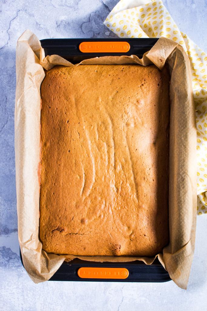 Pompoencake laten afkoelen / www.eenlepeltjelekkers.be