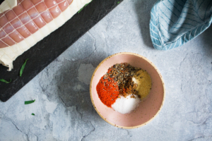Droog specerijenmengsel voor het kalkoengebraad / www.eenlepeltjelekkers.be