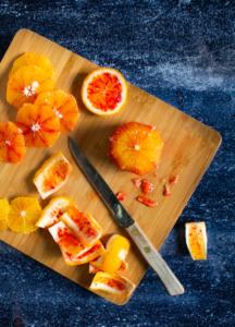 Sinaasappels schillen / www.eenlepeltjelekkers.be