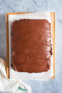 Chocoladecake met hazelnoten / www.eenlepeltjelekkers.be