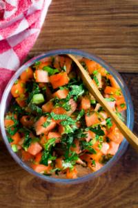 Watermeloensalade / www.eenlepeltjelekkers.be
