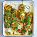 Gevulde paprika met parelcouscous en rucola / www.eenlepeltjelekkers.be