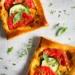 Hartige taartjes met courgette en tomaat / www.eenlepeltjelekkers.be